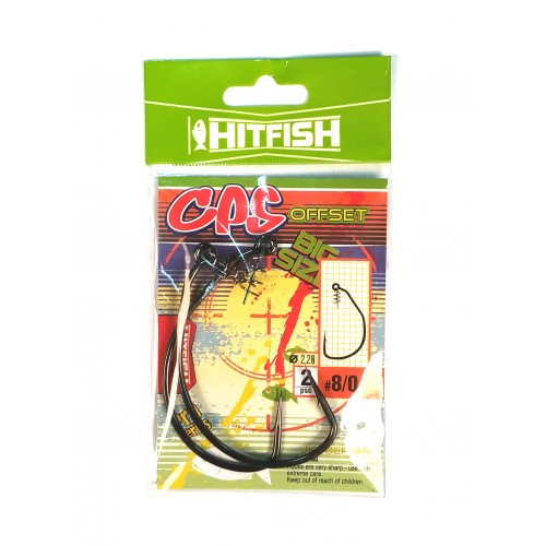 CPS OFFSET HOOK 6/0