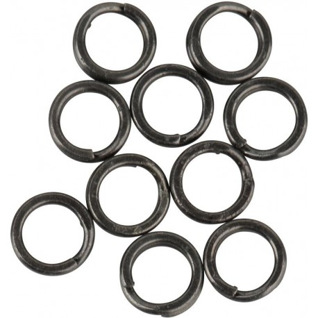 Stainless Splitring Mix Forged 10.5 mm SS 20 pcs