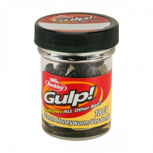 GULP! HONEY WORM 3,3CM BLACK