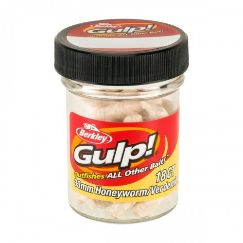 GULP! HONEY WORM 3,3CM MILKY WHITE