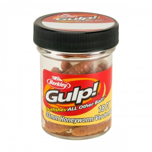 GULP! HONEY WORM 3,3CM NATURAL