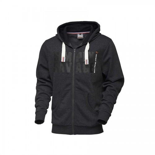 Simply Savage Raw Zip Hoodie S