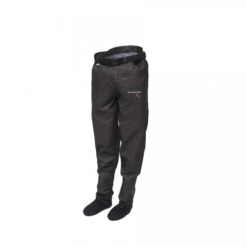 SAVAGE Denim Waist Waders w/Stocking Foot