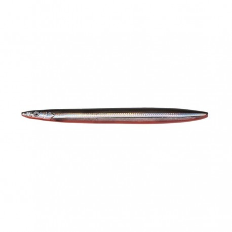 Line Thru Sandeel 85 mm 11 g 10-Black & Red UV