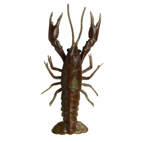 LB 3D Crayfish 8cm 4g F 4 ks Magic Brown