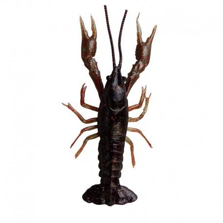 LB 3D Crayfish 8cm 4g F 4 ks Black Brown