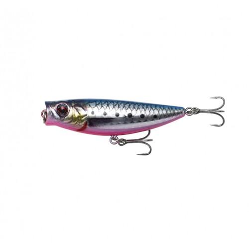 3D Minnow Pop Walker 5.5 cm 6 g F Pink Belly Sardine PHP