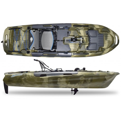 3WATERS KAYAKS Big Fish 108 pedal drive