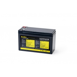 Lithiová baterie M-CELL M-CELL 12V 18Ah + 5A nabíječka