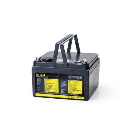Lithiová baterie M-CELL M-CELL 12V 23Ah