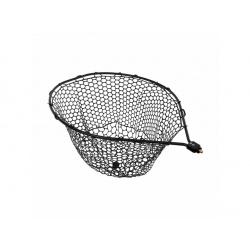 Fencl podběráková hlava Trout area Fish Hunter XL se silikonovou sítí