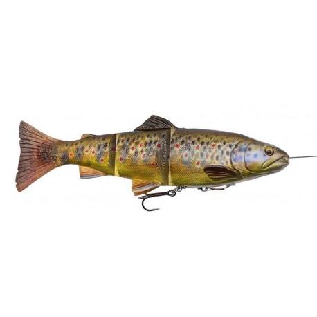 4D Line Thru Trout 15 cm 40 g MS Dark Brown Trout
