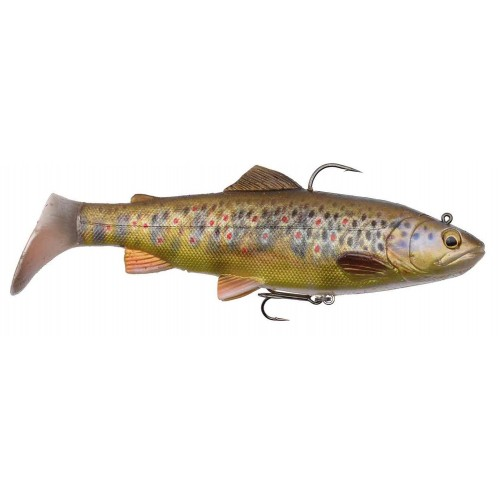 4D Trout Rattle Shad 12.5 cm 35 g Dark Brown Trout