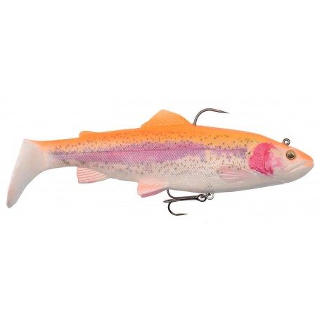 4D Trout Rattle Shad 17 cm 80 g Golden Albino