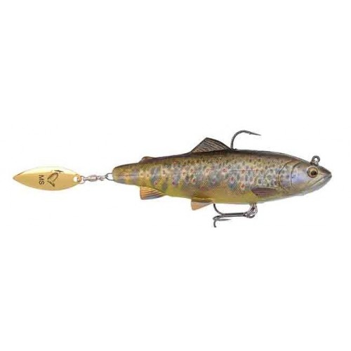 4D Trout Spin Shad 11 cm 40 g MS Dark Brown Trout
