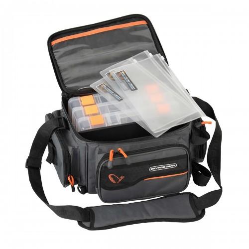 System Box Bag M 3 boxes & PP Bags (20x40x29cm)