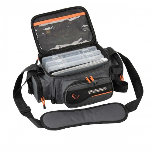 System Box Bag XL 3 Boxes + Waterproof cover (25x67x46cm)