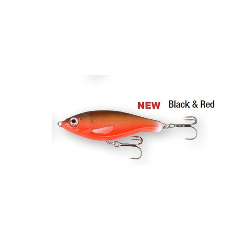3D Roach Jerkster 63 6.3 cm 8 g SS 08-Black and Red