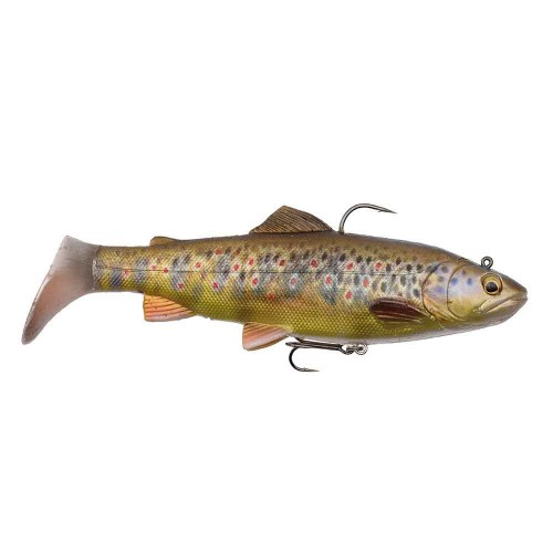 4D Trout Rattle Shad 17 cm 80 g 03-Dark Brown Trout