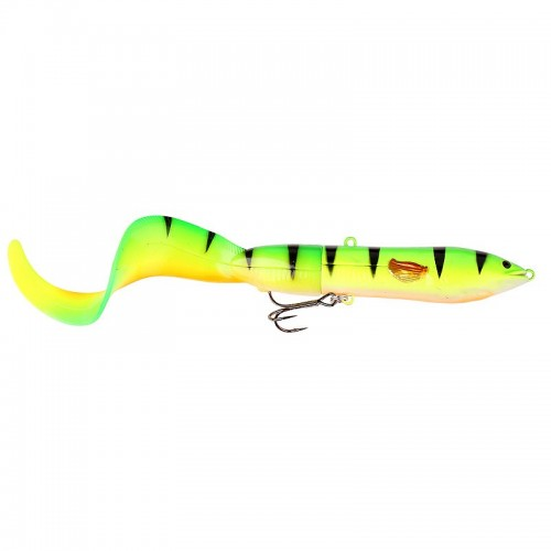 3D Hard Eel Tail Bait 17 cm 40 g SS 04-Fire Tiger