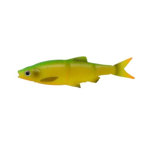 3D LB Roach Swim n Jerk 7.5 cm 4 g 4pcs Firetiger