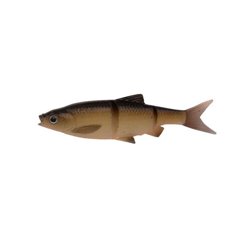 3D LB Roach Swim n Jerk 12.5 cm 18 g 2pcs Dirty Roach