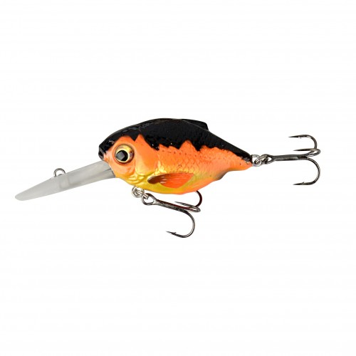 SG 3D Crucian Crank46 4.6cm 7g SF SR 04-Black & Orange