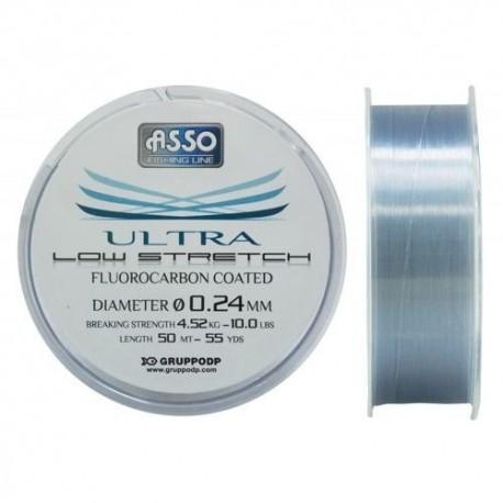 Vlasec Asso Ultra Low Stretch 0,14mm 100M