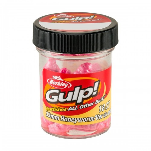 GULP! HONEY WORM 3,3CM BUBBLE GUM