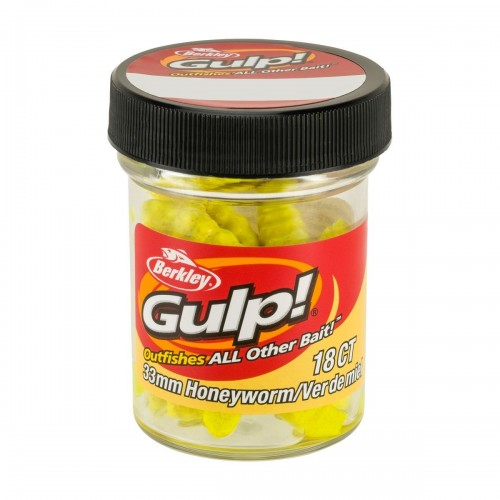 GULP! HONEY WORM 3,3CM HONEY YELLOW