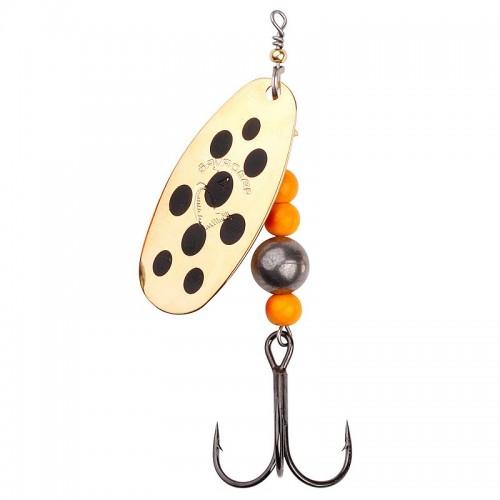 Caviar Spinner, velikost 2 6g 03 Gold