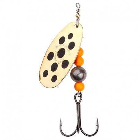 Caviar Spinner, velikost 4 14g 03 Gold