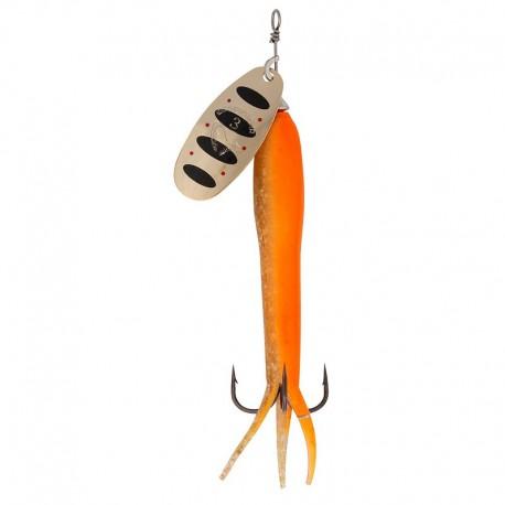 Flying Eel Spinner, velikost 3 23g 04 Fluo Orange Gold