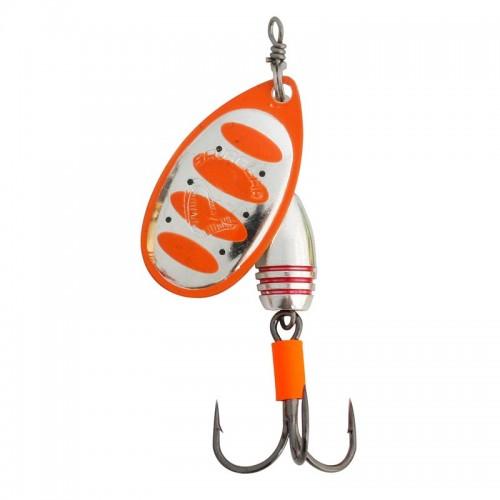 Rotex Spinner, velikost 2 5,5g 04 Fluo Orange Silver