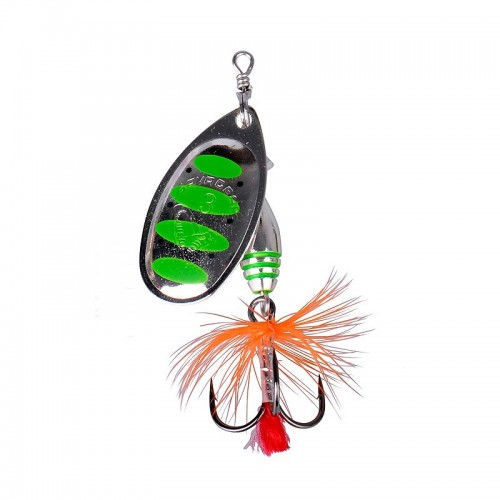 Rotex Spinner, velikost 3a 6g 10 Green Highlander