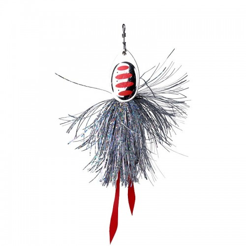 P Spinner, size 7 27 g 01 Silver Red