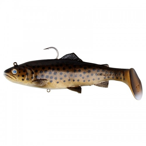 3D Trout Rattle Shad 12,5cm 35g 03 Dark Brown Trout