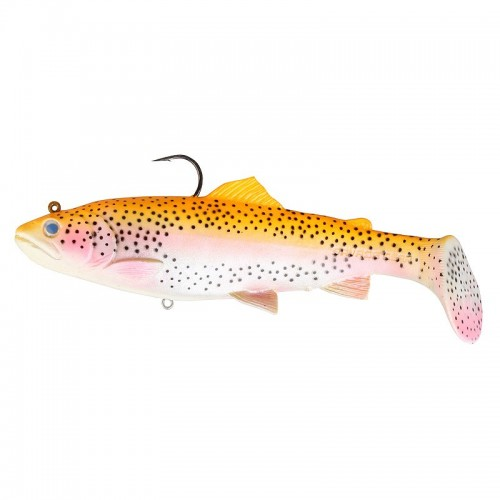 3D Trout Rattle Shad 17cm 80g 02 Golden Albino Rainbow