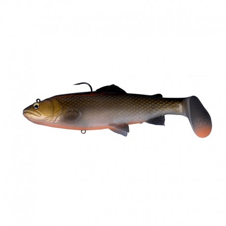 3D Trout Rattle Shad 12,5cm 35g MS 08 Dirty Roach